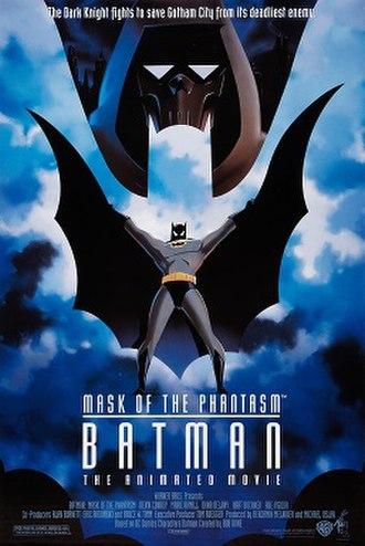 Batman: Mask of the Phantasm - Theatrical release poster