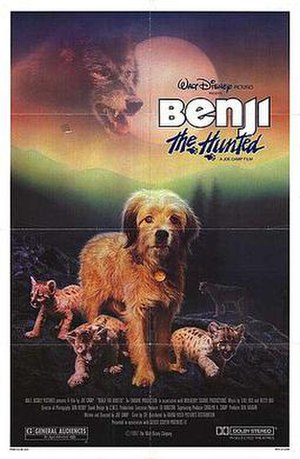 Benji the Hunted - Theatrical release poster