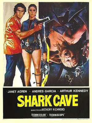 Bermuda: Cave of the Sharks - English-language theatrical release poster