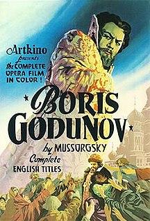 <i>Boris Godunov</i> (1954 film) 1954 film
