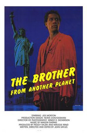 The Brother from Another Planet - Theatrical release poster