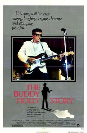 The Buddy Holly Story - The Buddy Holly Story DVD cover