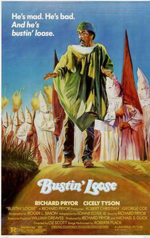 Bustin' Loose (film) - Theatrical release poster for Bustin' Loose.
