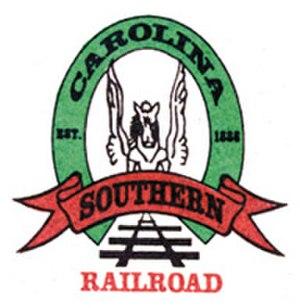 Carolina Southern Railroad - Image: Carolina Southern Railroad logo