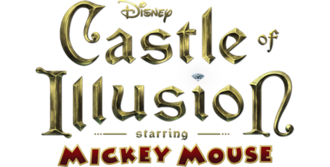 Illusion (series) - Logo utilized in Castle of Illusion Starring Mickey Mouse (2013)