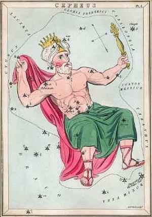 Cepheus, King of Aethiopia - Image: Cepheusurania