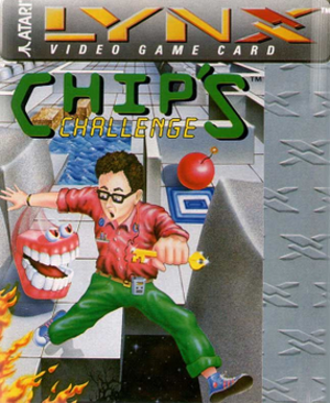 Chip's Challenge - Cover art