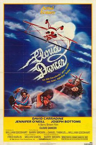 Cloud Dancer - 1980 theatrical poster for the US