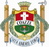 Coat of arms of Coazze