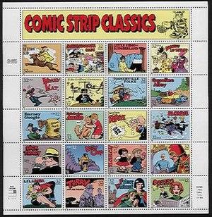 Classic comic strip