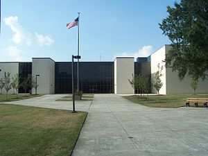 Corbett Sports Center, from the rear