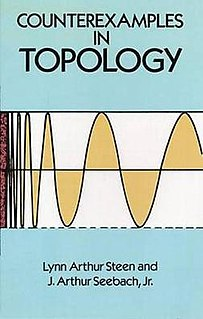 <i>Counterexamples in Topology</i> book by Lynn Steen