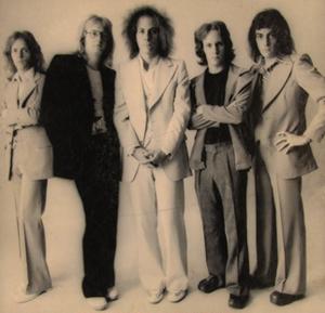 Crack the Sky - Crack the Sky, circa 1976 L-R: Jim Griffiths, Rick Witkowski, John Palumbo, Joey D'Amico, Joe Macre
