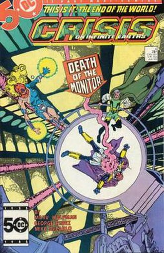 Monitor (comics) - Death of the Monitor. Art by George Pérez.