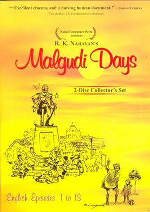 Malgudi Days (TV series) - DVD Cover of Malgudi Days