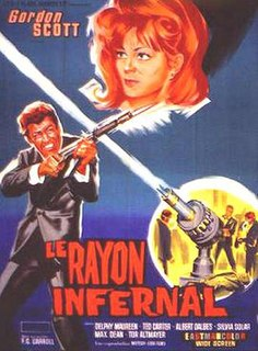 <i>Danger!! Death Ray</i> 1967 film by Gianfranco Baldanello