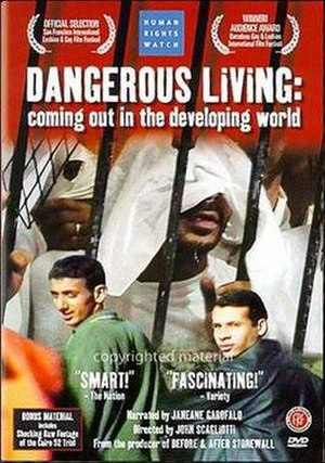 Dangerous Living: Coming Out in the Developing World - DVD cover