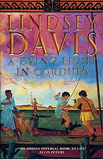<i>A Dying Light in Corduba</i> book by Lindsey Davis