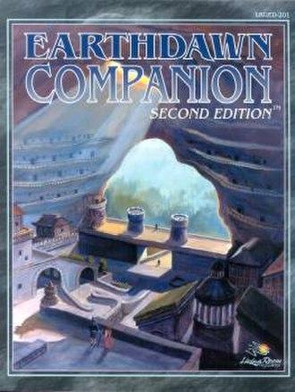 Earthdawn - The Earthdawn Companion 2nd Edition cover shows Throal, the capital of Barsaive