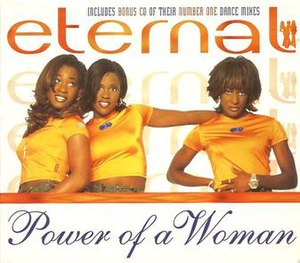 Power of a Woman - Image: Eternal Power Of A Woman Re Release CD Cover