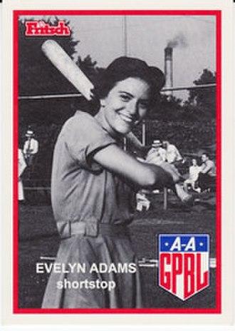 Evelyn Adams - Image: Evelyn Adams