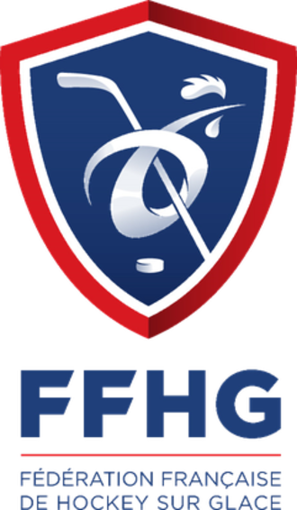 French Ice Hockey Federation - Image: Fédération Française de Hockey sur Glace (emblem)