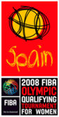 FIBA World Olympic Qualifying Tournament for Women 2008 logo.png