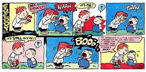 Robert Baldwin (cartoonist) - Robert Baldwin's Freddy (October 14, 1956)
