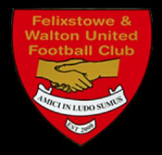 Felixstowe & Walton United F.C. - Image: Fwufcclubbadgesmall