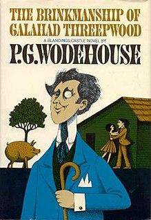 <i>Galahad at Blandings</i> 1964 novel by P.G. Wodehouse
