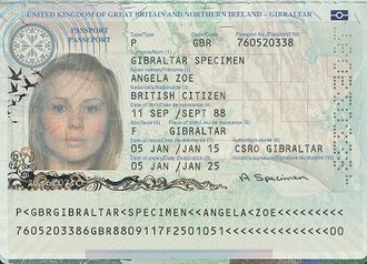 British passport (Gibraltar) - Gibraltar ePassport information page