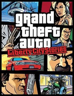 <i>Grand Theft Auto: Liberty City Stories</i> 2005 action-adventure open world video game developed by Rockstar North
