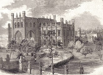 Grant Medical College and Sir Jamshedjee Jeejeebhoy Group of Hospitals - Grant Medical College in the Illustrated London News, 8 October 1859, print from a photograph by H. Hinton.