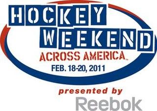 Hockey Weekend Across America Annual ice hockey promotional event