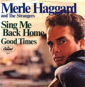 Sing Me Back Home (song) - Image: Haggard Sing Me Back Home cover