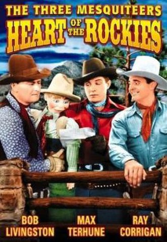 The Three Mesquiteers - DVD Cover for Heart of the Rockies (1937)