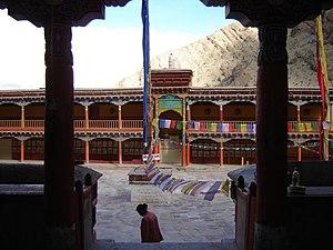 Hemis Monastery - Image: Hemis courtyard