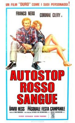 Hitch-Hike (film) - Italian film poster