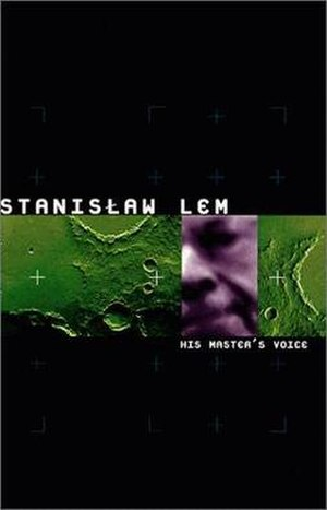 His Master's Voice (novel) - English language edition cover.