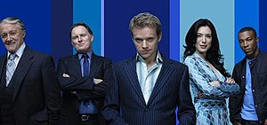 Hustle (TV series) - The main cast of Hustle (series 4)