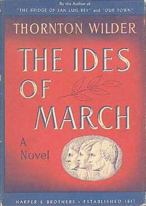 The Ides of March (novel) - First edition
