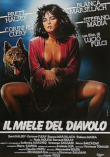 <i>The Devils Honey</i> 1986 film directed by Lucio Fulci