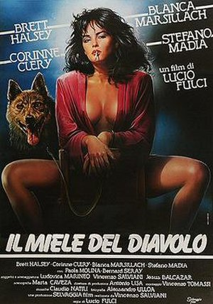 The Devil's Honey - Italian theatrical release poster by Studio Lapis