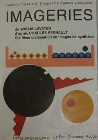 Warja Lavater - Poster for Imageries de Warja Lavater, 1995.