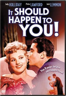 <i>It Should Happen to You</i> 1954 film by George Cukor