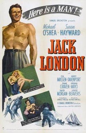 Jack London (film) - Film poster