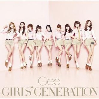 Gee (Girls' Generation song) - Image: Japan Gee