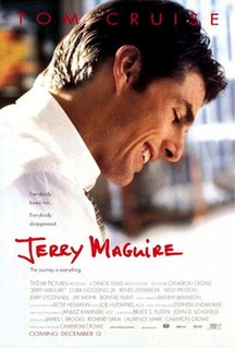 <i>Jerry Maguire</i> 1996 sports film by Cameron Crowe