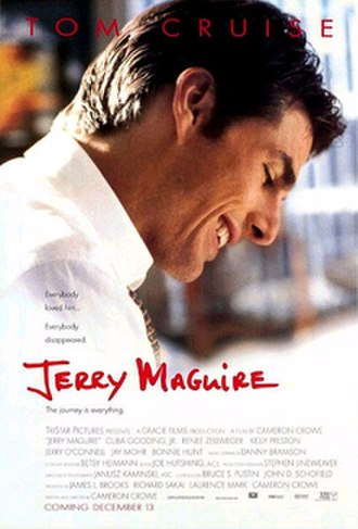 Jerry Maguire - Theatrical release poster
