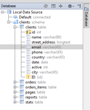 PhpStorm - Viewing Data Source Structure and other SQL and Databases related features in PhpStorm